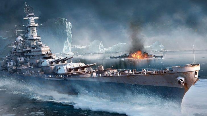 Wargaming World Of Warships World Of Warships Wallpaper Battleship Warship World of warships wallpaper 4k