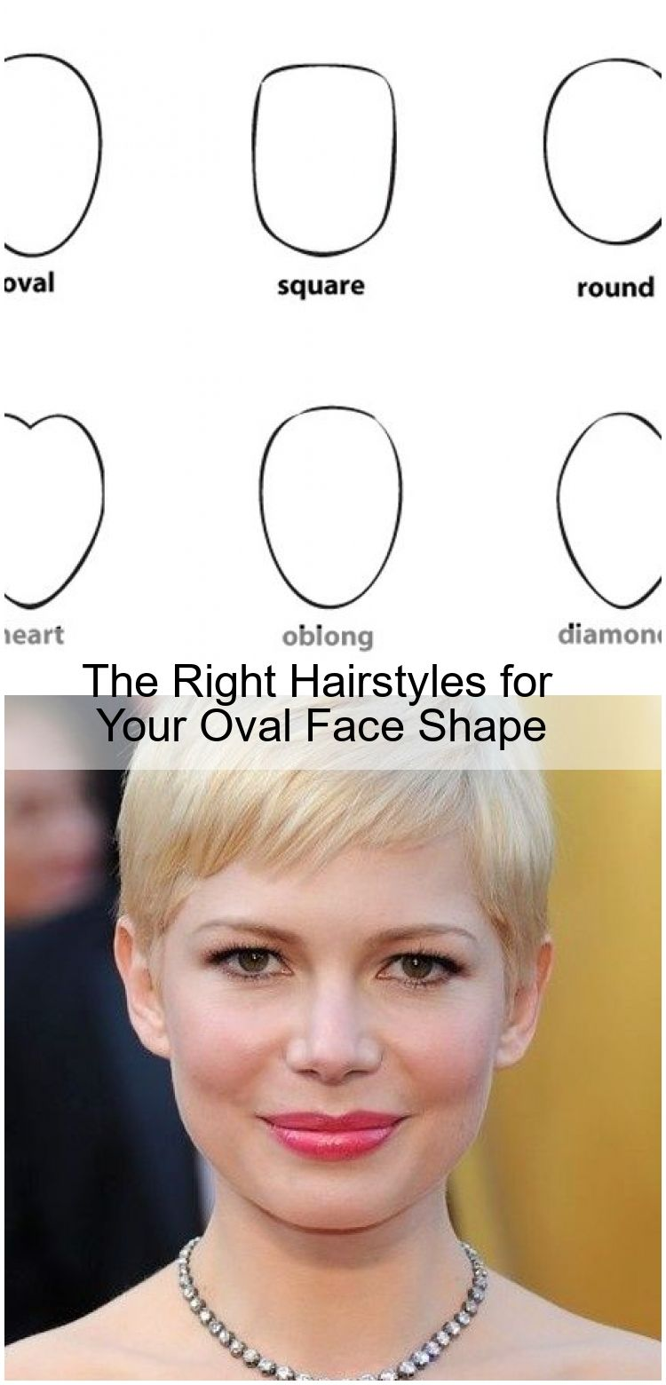 The Right Hairstyles for Your Oval Face Shape  Ovale