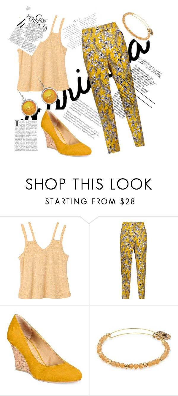 """""""Untitled #38"""" by duhitsmeganxx ❤ liked on Polyvore featuring RVCA, Oscar de la Renta, Rialto, Alex and Ani and Whiteley"""
