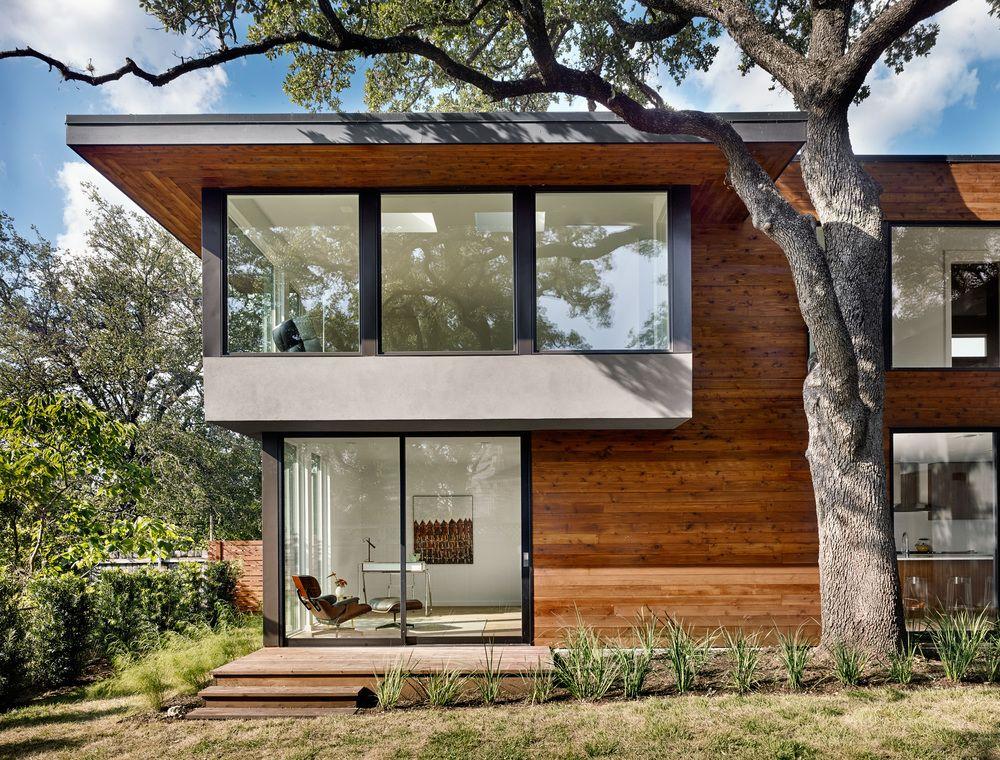 backyard view Architecture, Architecture details