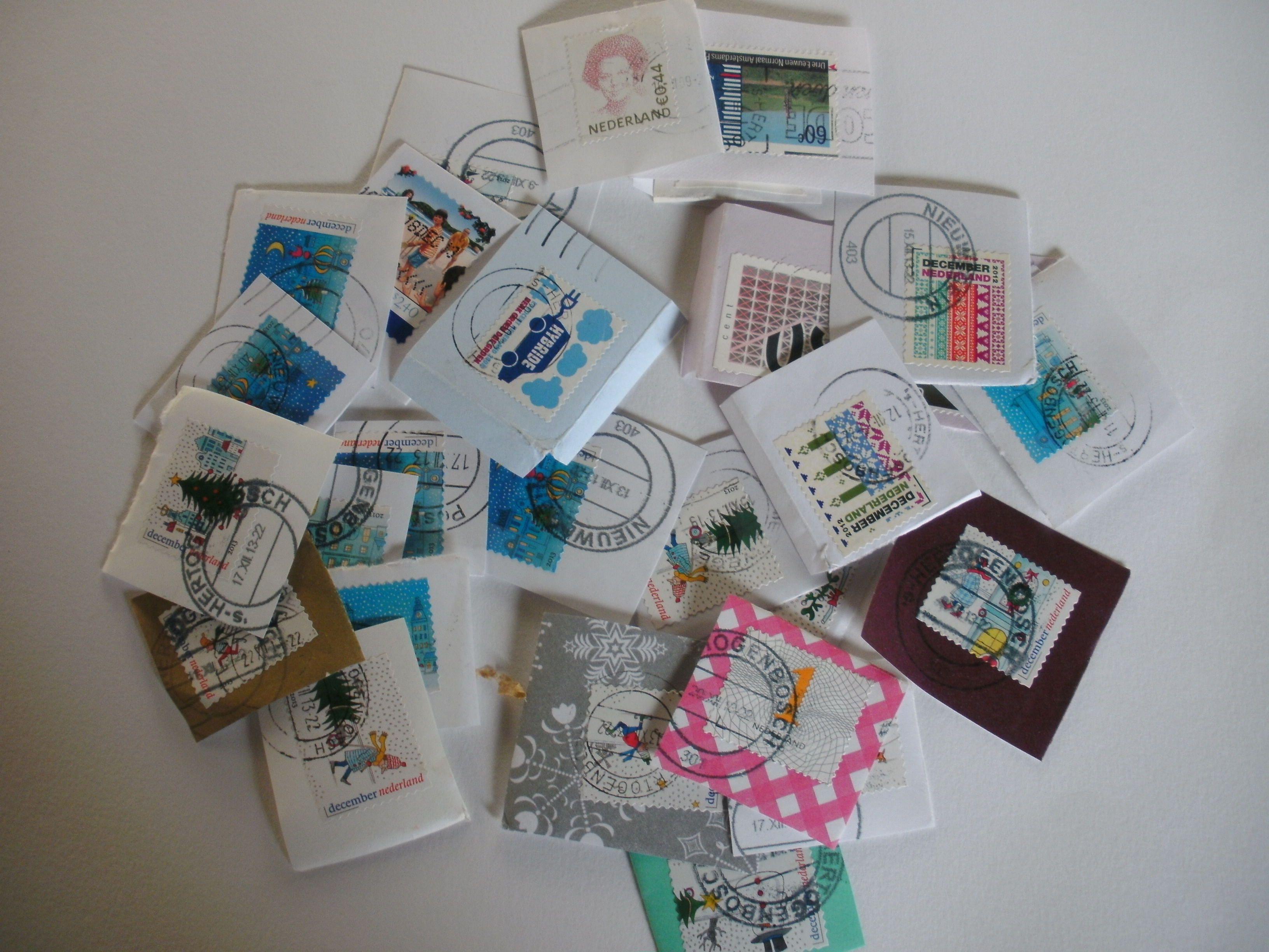 Postzegels voor het Wereld Natuur Fonds Ansichtkaart