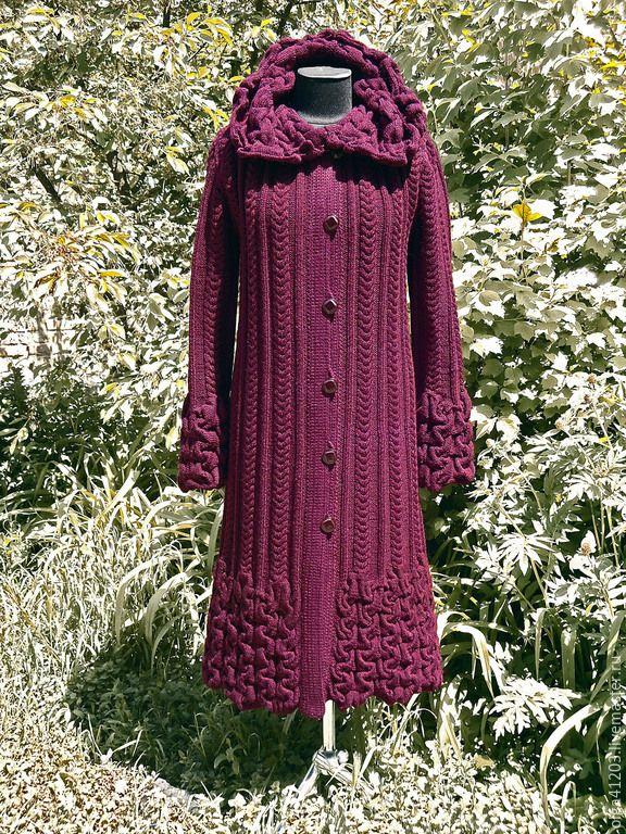 страна мастеров мастер класс вязание пальто фото готов выдаче