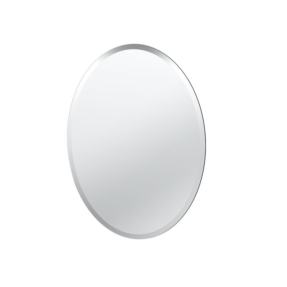 Gatco flush mount 265 in x 195 in frameless oval