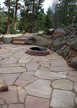 sandstone paver patio patios flagstone walkways steps stairs pavers sandstone slabs - Diy Sandstone Patio