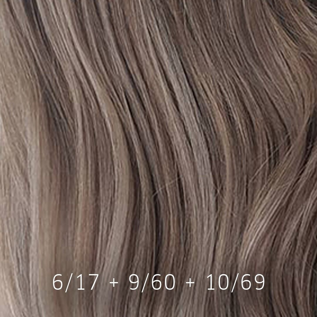 Stoney Greige Meets Mushroom Blonde We Just Love This Subtle
