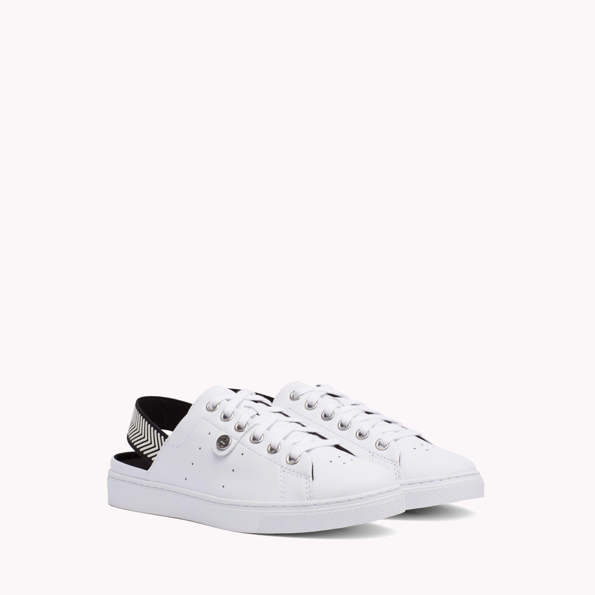 Leather Sneaker - 7.5