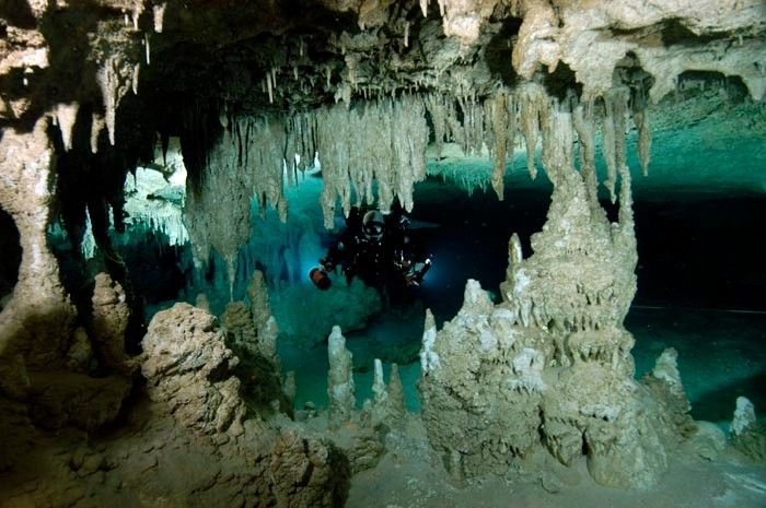 Sistema Sac Actun is considered by most cave divers, as one of the world's best decorated cave systems, perhaps second only to Nohoch Nah Chich