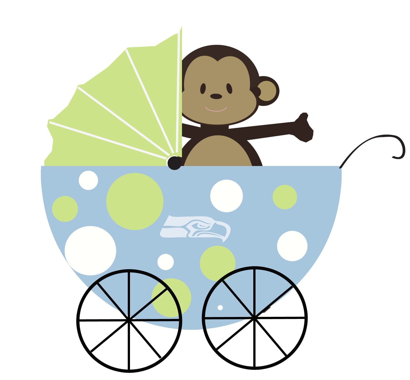 it s a boy baby shower theme seahawks and monkeys showers