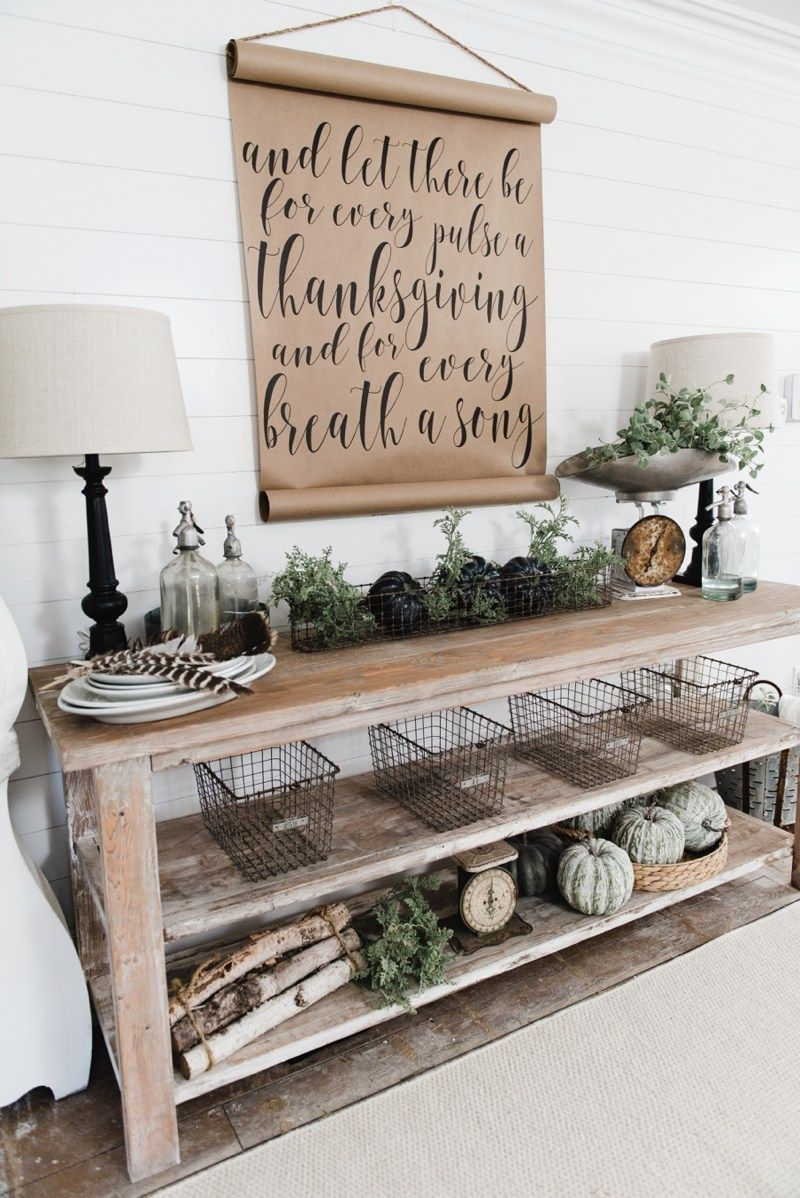 Diy farmhouse dining room buffet could be a great tv console sofa
