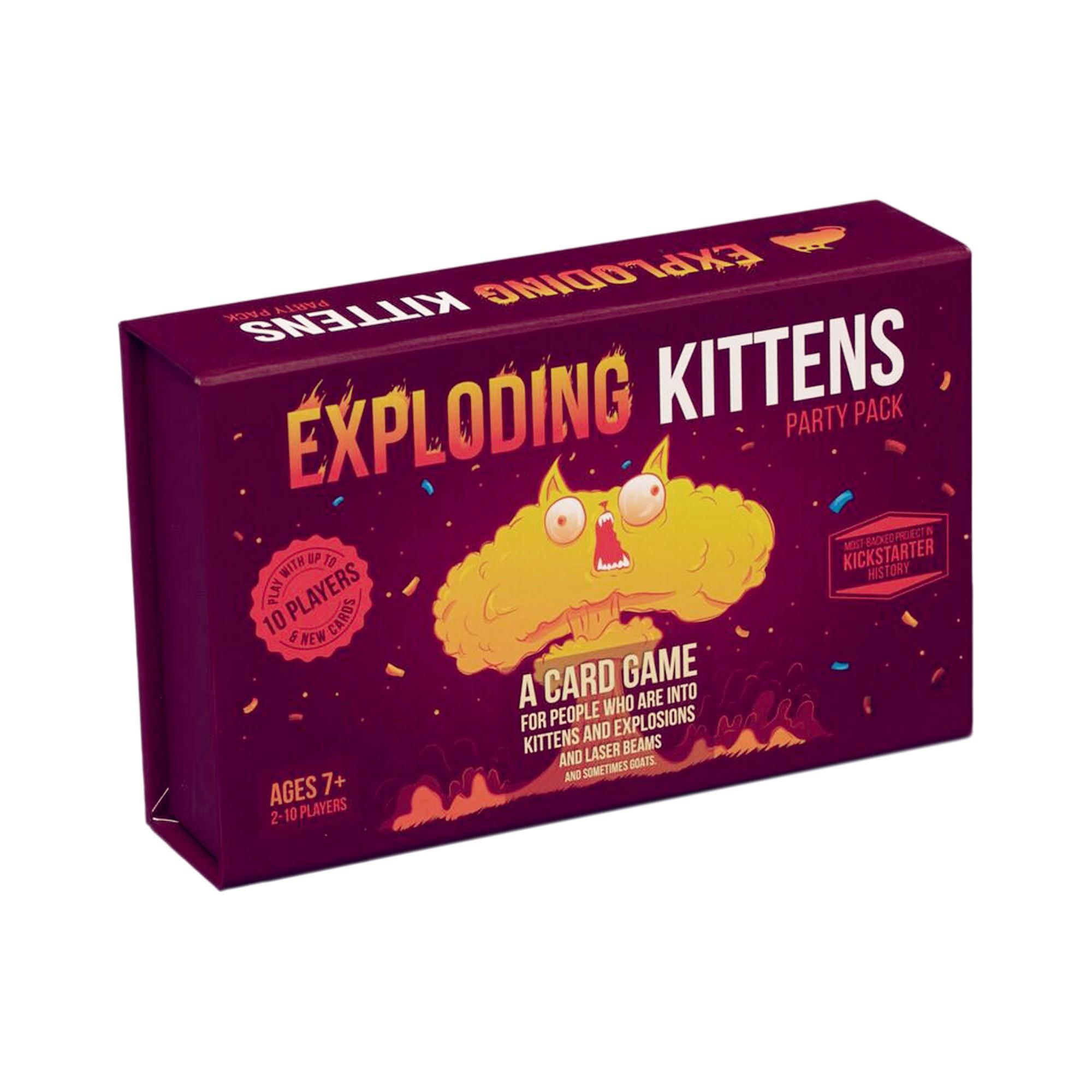 Exploding Kittens Party Pack Game Exploding Kittens Kitten