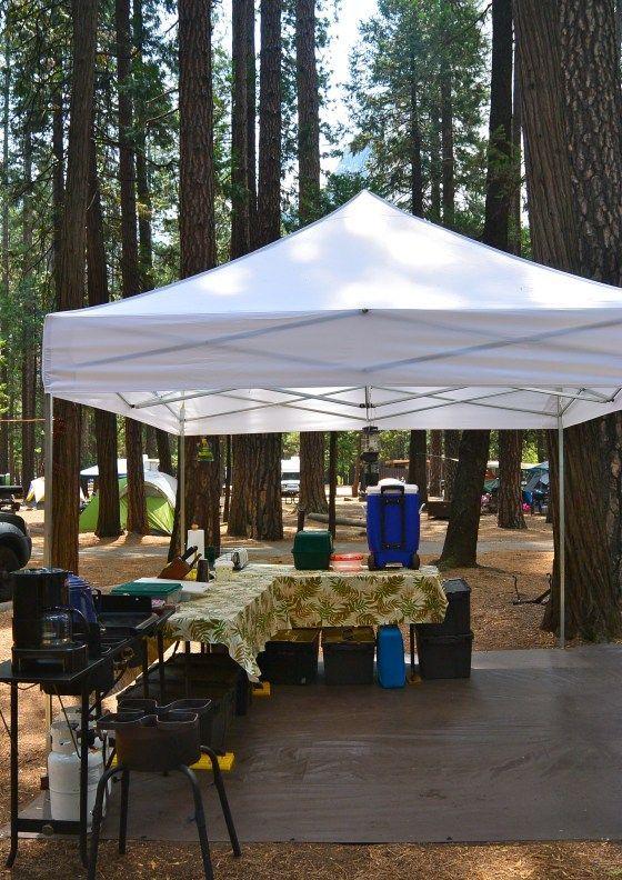 Tent Camping Organization