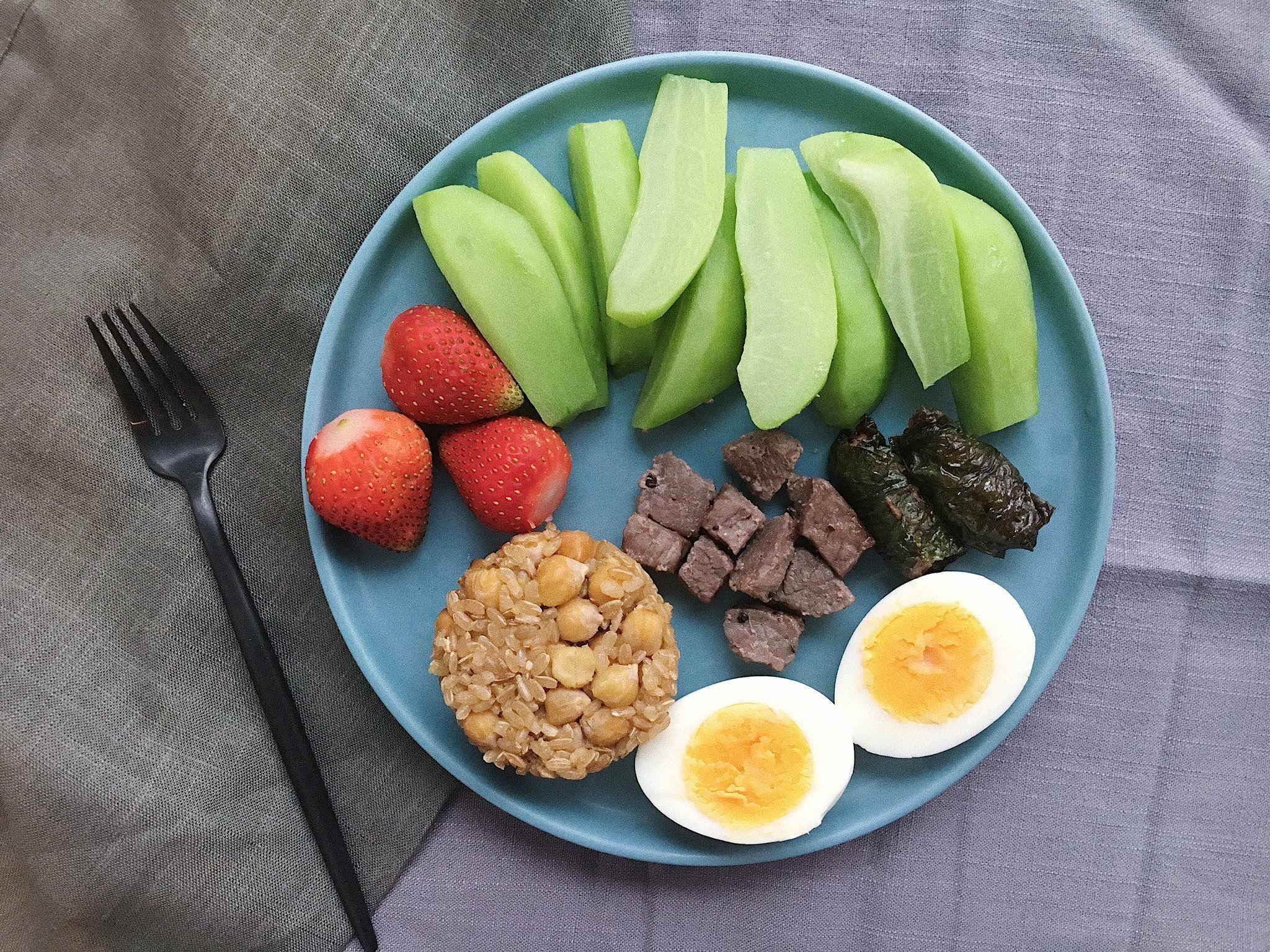 Фитнес завтрак для похудения