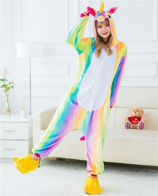 ddf234a1124b Size measurements in the picture. Item: Unicorn Pajamas Material ...