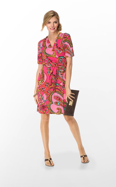 9b4ca177e44 So excited to pick up my new Lilly next week from Bloomies presale...  (Adalie Wrap dress in Azalea Pink Follow The Pink Road)