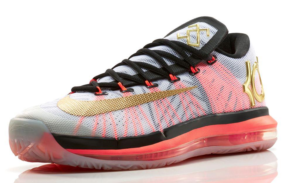 "new product eb42f 572e9 Nike Basketball ""Gold"" Pack  LeBron 11 Elite, Kobe 9 Elite   KD VI Elite"