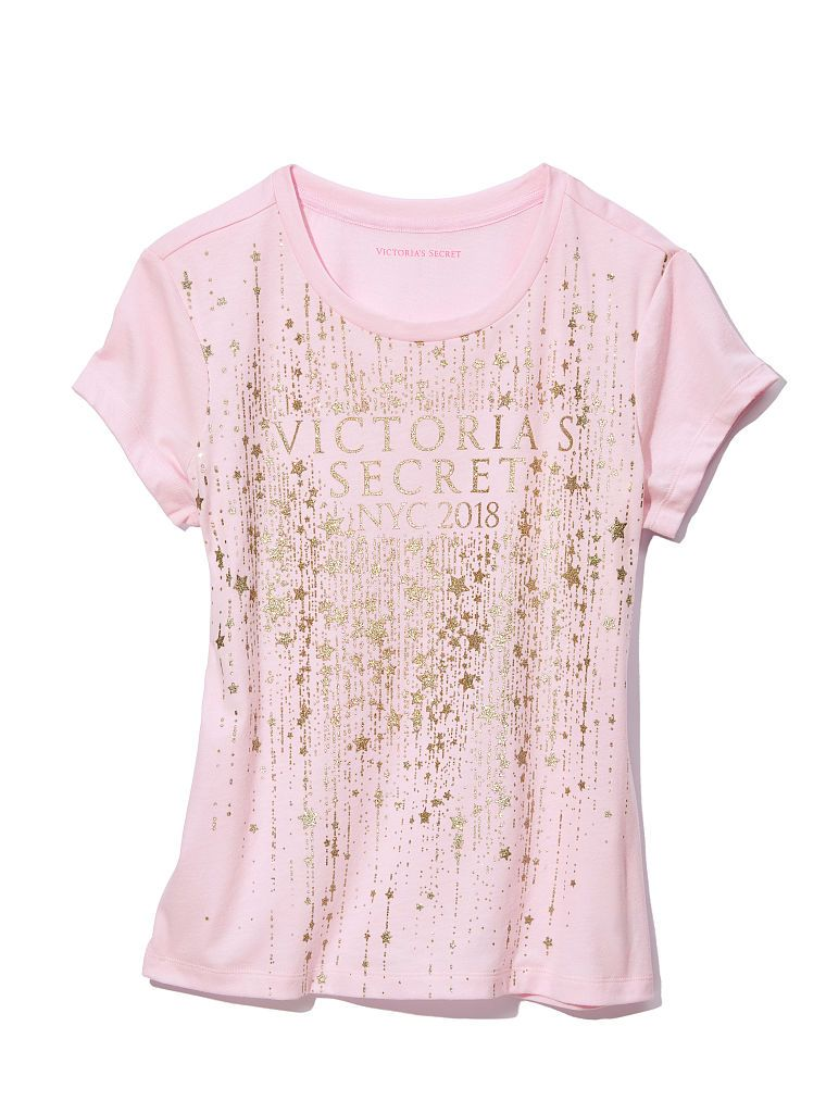 0e4a9f53a65be Victoria's Secret Fashion Show Baby Tee | Products in 2019 | Fashion ...