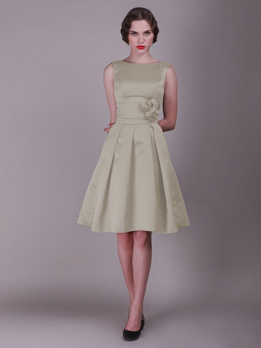 Vintage bridesmaid dress with pleated skirt and rose details vintage bridesmaid dress with pleated skirt and rose details ombrellifo Images
