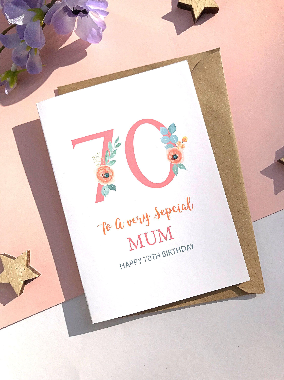 70th Birthday Card 40th Birthday Card Personalised 60th Etsy 70th Birthday Card 80th Birthday Cards 60th Birthday Cards