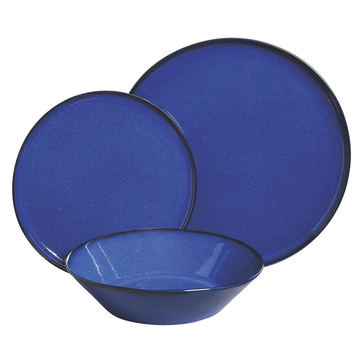 Maddox Blue 12 Piece Dinner Set Buy Now At Habitat Uk Dinner Sets Crockery Dinnerware Set