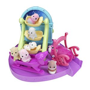 Zhu Zhu Babies Fun Time Sleepover From Cepia Llc Cool Baby Stuff Zhu Zhu Babies 90s Kids Toys