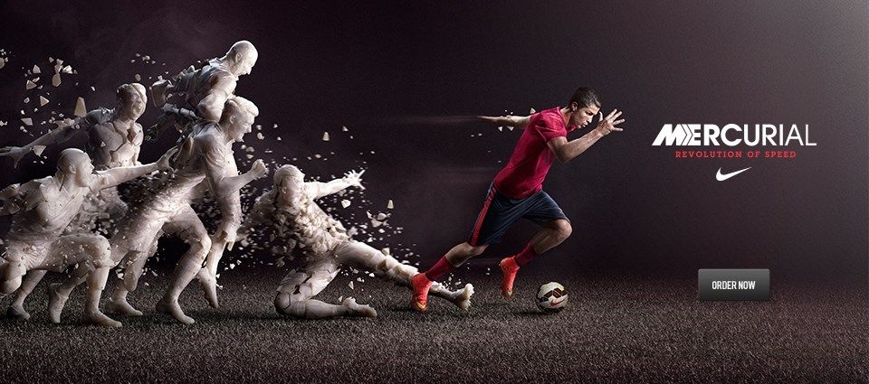 4058a5f84d9c NIKE Mercurial | Sports. | Nike ad, Advertising design, Advertising ...