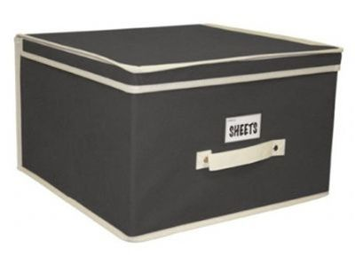 Nice size.  All Dorms Have Limited Space - Black & Cream Storage Organizers - Jumbo - Must Have For Dorm Storage
