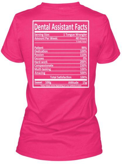 Dental Assistant Facts #dentalassistant
