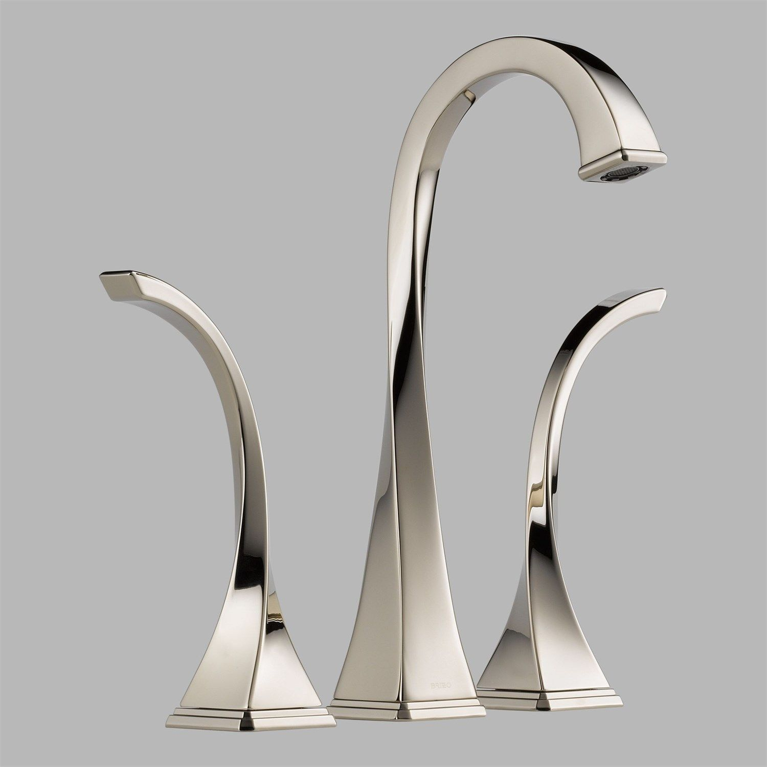 Brizo 65430LF-PN Virage Two Handle Widespread Vessel Lavatory Faucet ...