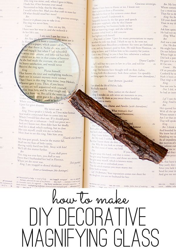 Rockin the holidays easy gift ideas diy decorative magnifying great gift for my aging baby boomer friends unfortunately i have negle Images