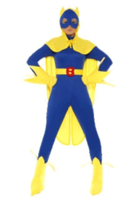 Adult Mens SUPERHEROS Fancy Dress Costume Comic TV Film Super Hero Stag Outfit