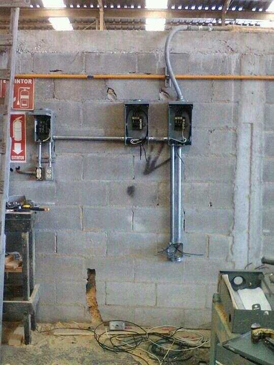 Instalaci n de tableros el ctricos mediante tuber a conduit canalizaciones el ctricas - Instalacion electrica superficie ...
