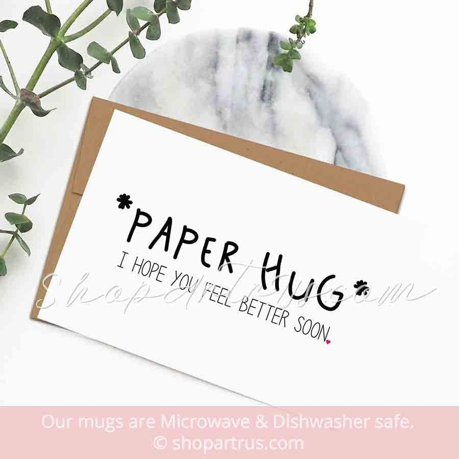 Funny Get Well Soon Cards Cute Sympathy Greeting Paper Hug Card Feel Better Card Speedy Recovery Surgery Funny Get Well Cards Recovery Cards Get Well Cards