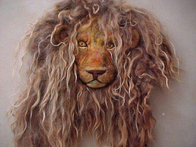 Incredible Lion Head by Birgitte Krag Hansen