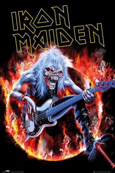 Iron Maiden Fear Live Plakat Plakaty Muzyczne Music W