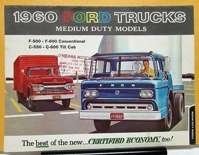 Ford Truck Model F C    Medium Duty Sales Brochure
