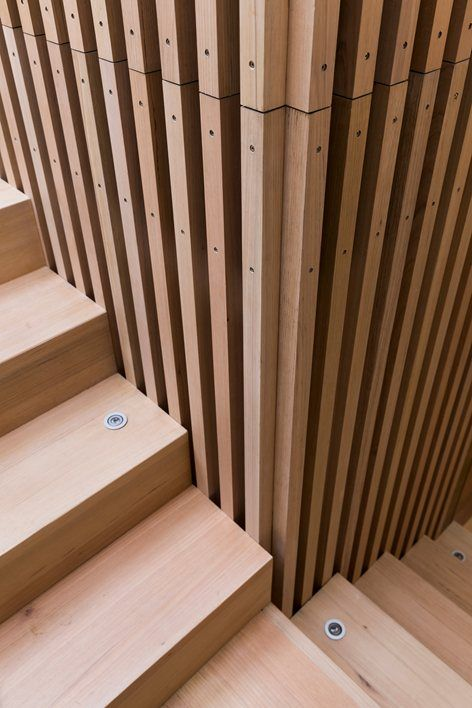 South Melbourne House, South Melbourne, 2015 - MITSUORI ARCHITECTS - love the vertical lines