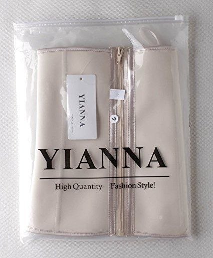 9bc4d2405a3 YIANNA Women s Zipper Hook Hourglass Latex Waist Training Corset Body Shaper  at Amazon Women s Clothing store