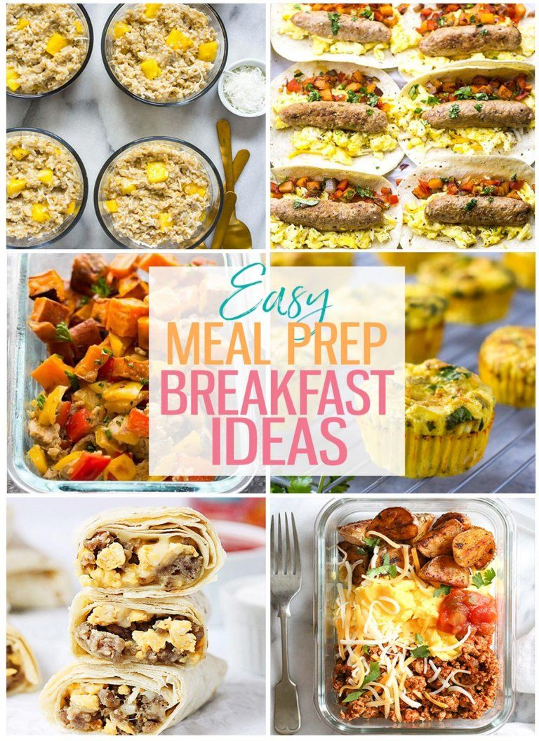 15 Breakfast Meal Prep Ideas For Busy Mornings The Girl On