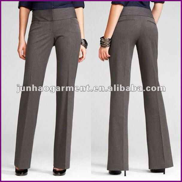 Pantalon De Tela Pantalones De Vestir Mujer Pantalon De Vestir Dama Pantalones Mujer