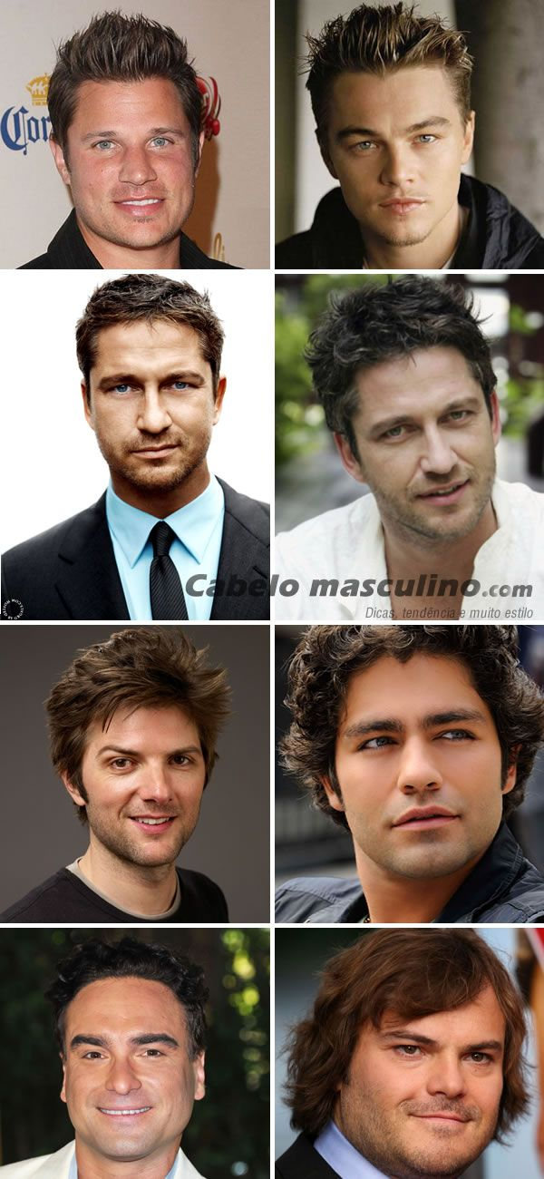 a7fcc8d2d3d1b cortes de cabelo masculino de atores famosos com o rosto redondo ...