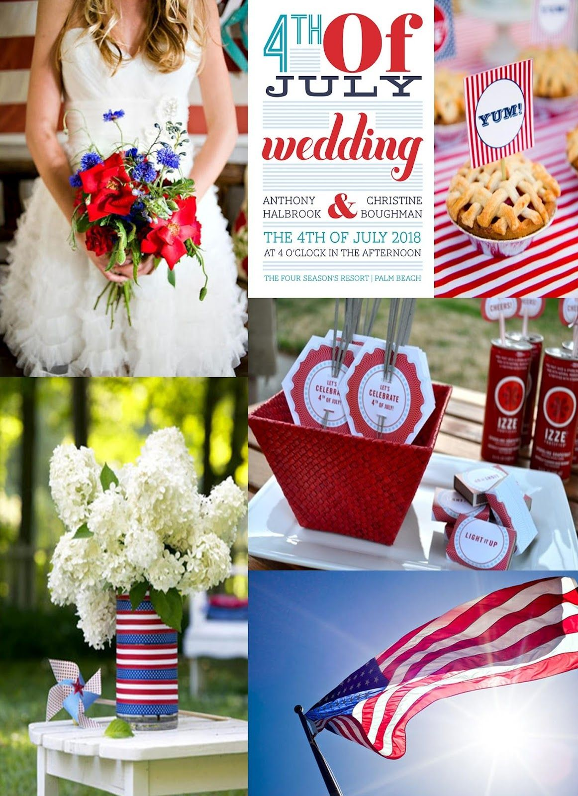 Frosted Pink Events Color Inspiration Happy Fourth of