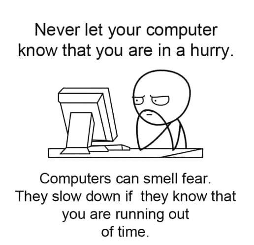 Especially When You Need To Print Something Computer Humor Computer Jokes Programmer Humor