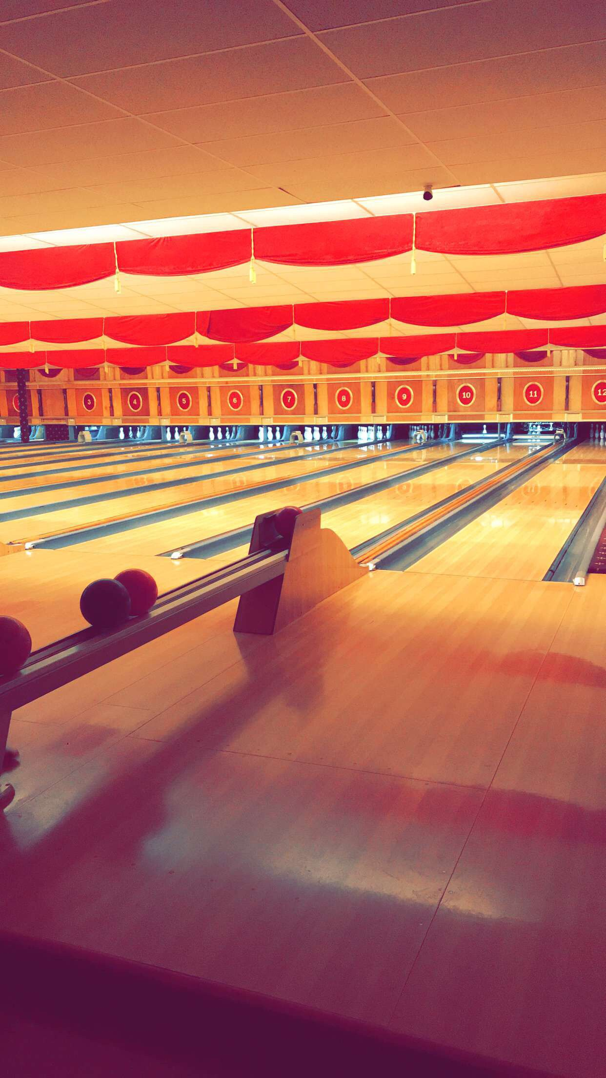 Bowling Alley Bowling Alley Phone Wallpaper Bowling