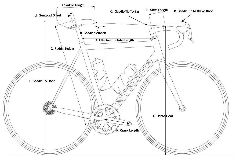 Taking Your Bike Measurements With Images Bike Magazine Bmx