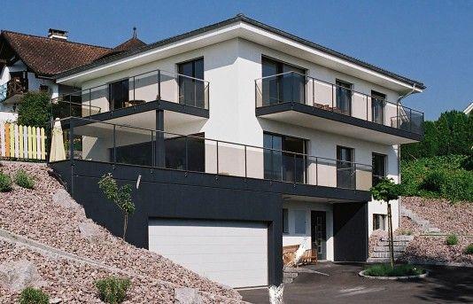 Architektenhaus im Bauhausstil - Wildstraße Heidenheim mehr zu - minecraft küche bauen
