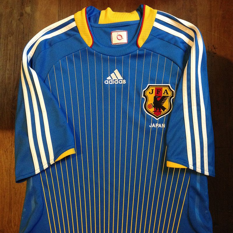 2008 Japan Home Jersey - 2010 Qualifiers South Africa FIFA World Cup     2008年 2b4ebca1f