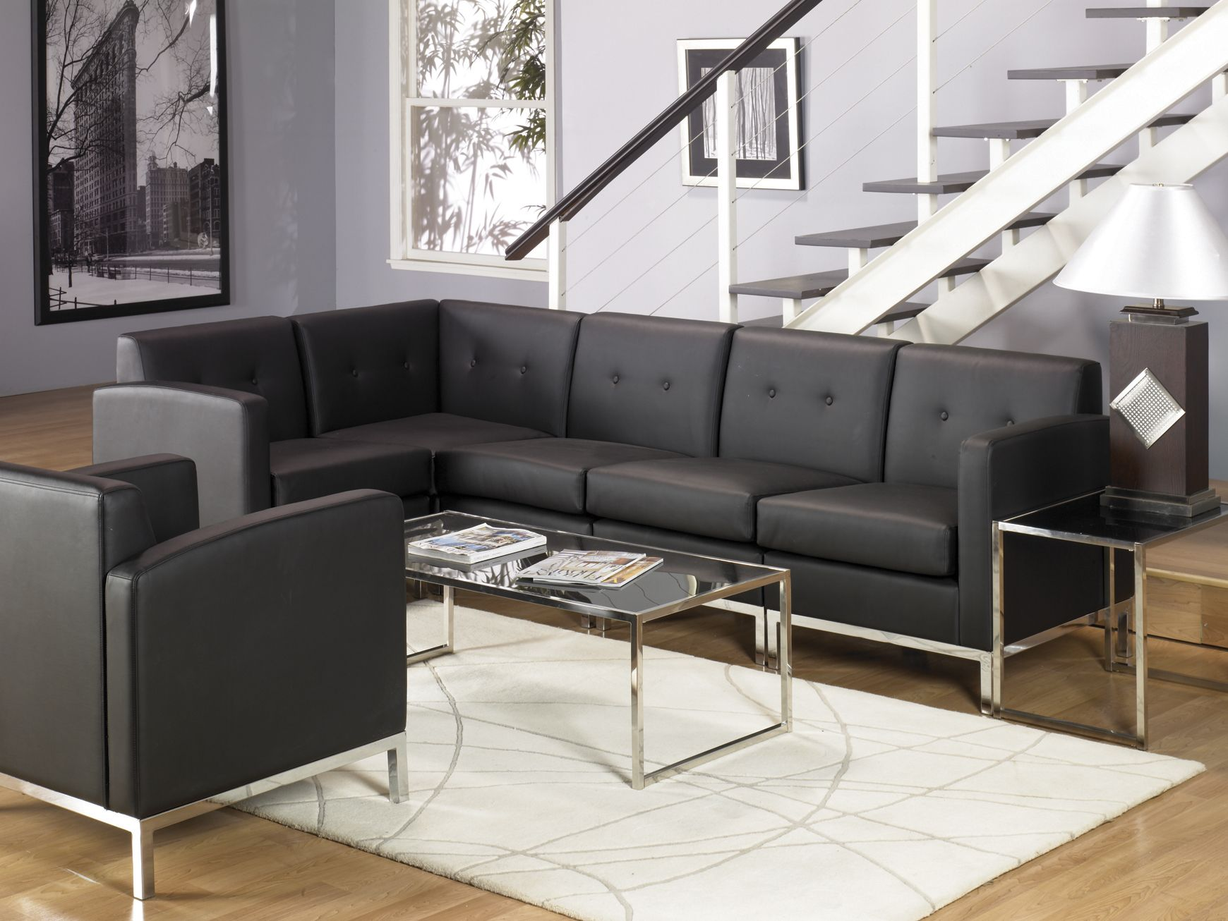Wall Street Collection modular lounge Make your couch as large or