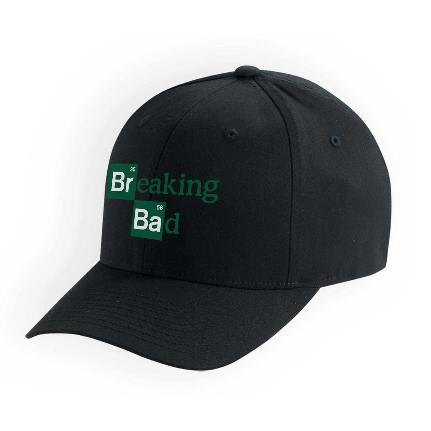 Unisex Hat Breaking-Bad-Heads Adjustable Cotton Floral Baseball Cap
