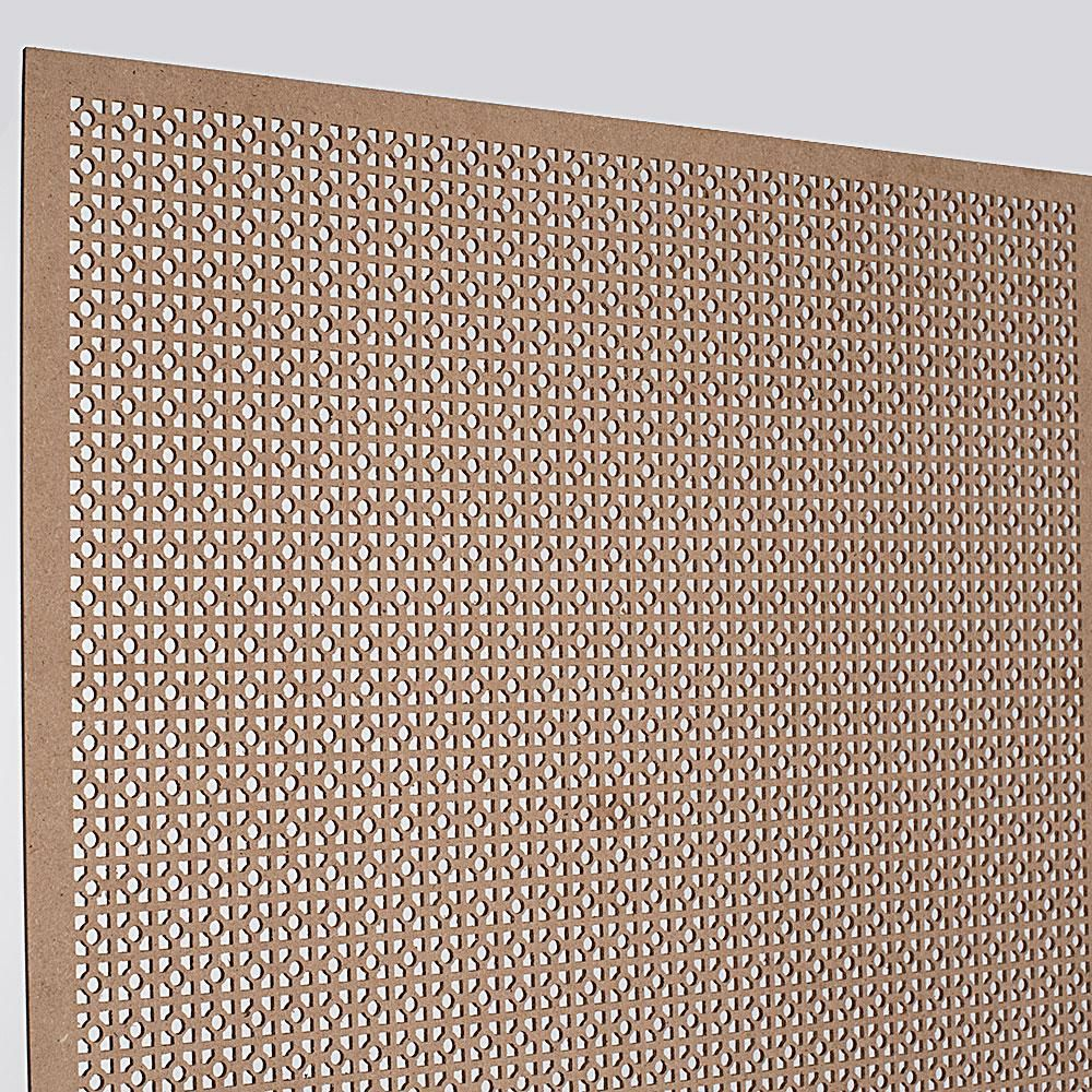 American Pro Decor 72 In X 24 In X 1 8 In Unfinished Square And Mini Circle Decorative Perforated Paintable Mdf Screening Panel Insert 5apd10617 The Home D In 2020 Decorative Metal Screen Paneling Decor