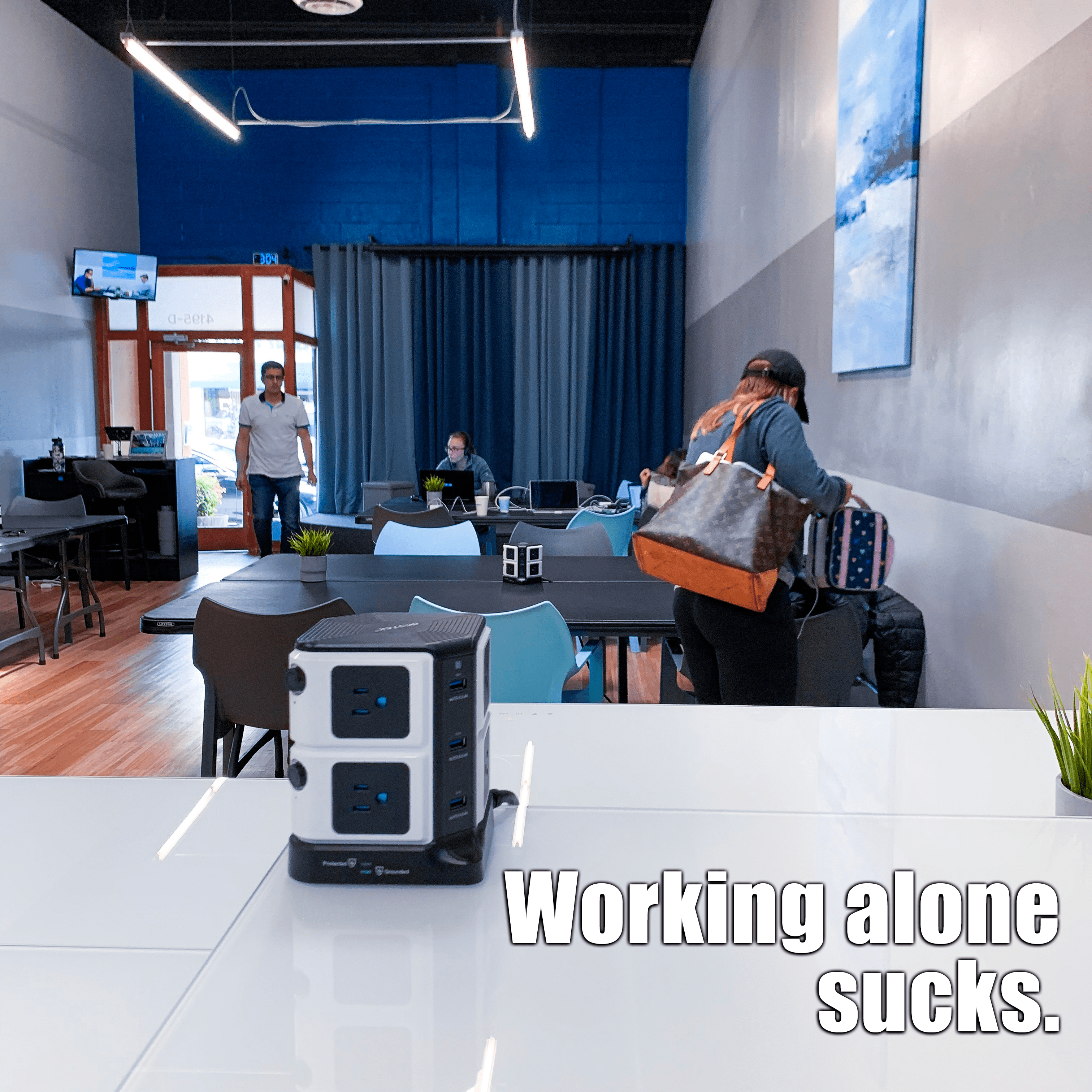 Long Beach Coworking Space With Images Coworking Space Work Space Coworking